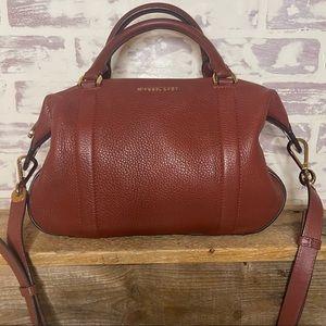 Michael Kors Burgundy Handbag/Shoulder Bag